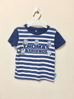 🚚 日本 湯瑪士小火車 短袖上衣 名牌童裝 2手童裝