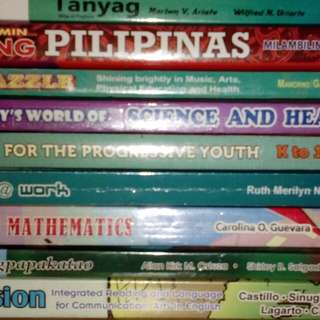 Full Set Grade 6 Textbooks