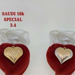 "18K SPL SAUDI GOLD PENDANT ';';';"""""