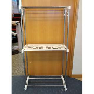 CLEARANCE Hanging Clothing Rack 174x90x39cm