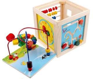 Brand new - Activity Cube / beads box