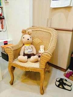南法鄉村風悠閒籐椅