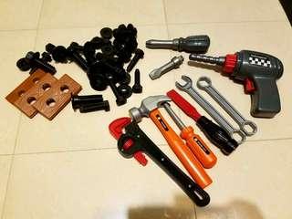 工具一堆 有電鑽
