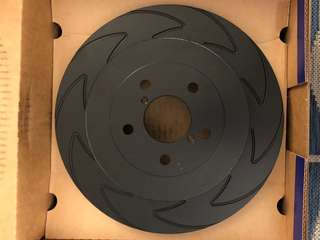 EBC Rear Brake Rotor Subaru Brembo 2 Pot
