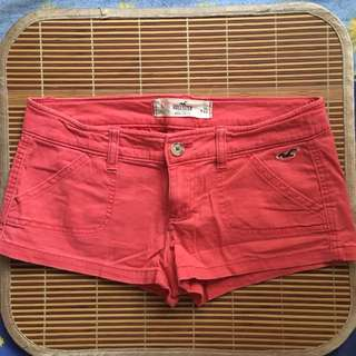 Hollister pink hot Shorts