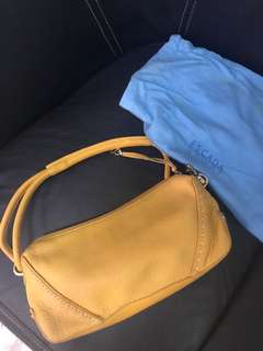 excellent condition Authentic Escada sport mustard bag - 12 by 6