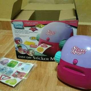 DIY Sticker Magic