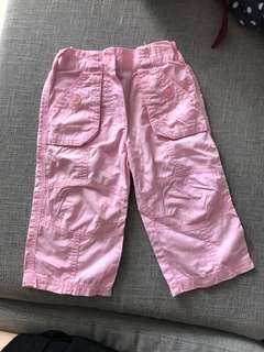 Girl's pants (1-2 years old)