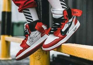 Nike OFF-WHITE x Air Jordan 1