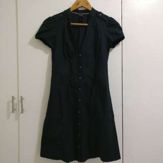 Mango Black Dress (Small) for office or semi-formal occasions