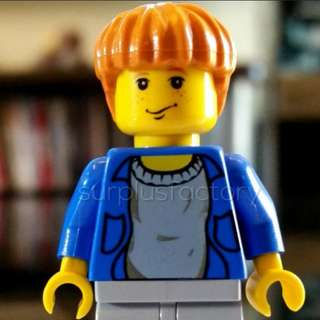 Lego Minifigure Harry Potter Ron Weasley Yellow Face Classic