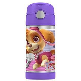 Thermos FUNtainer Straw Bottle - 12 oz *Paw Patrol Purple*