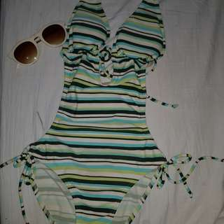 STRIPED 1pc SwimWear