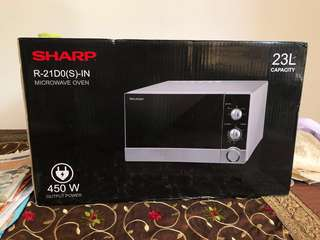 Microwave Oven Sharp