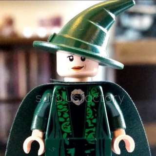 Lego Minifigure Harry Potter Professor McGonagall