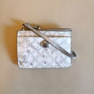 PRELOVED COACH Pouch with Key Chain