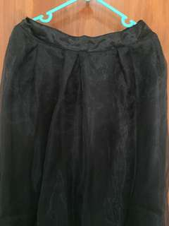 rok hitam organdi