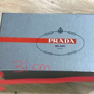 Authentic Prada /Castaner shoe box