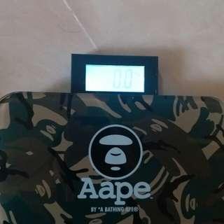 AAPE 自動申縮電子磅