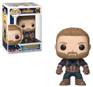 Funko Pop Captain America Avengers Infinity war