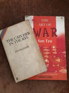 THE CATCHER IN THE RYE + THE ART OF WAR