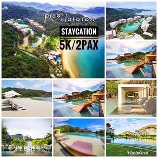 Staycation Pico de Loro condo Batangas