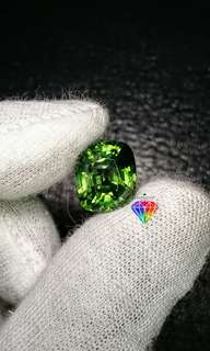 Natural Green Zircon