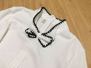 Korean Brand Blouse with Ribbon