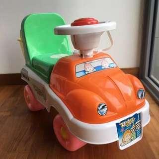 Toddler car ride