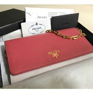 Prada Saffiano Leather (PINK)