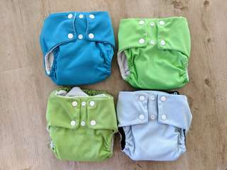 Peapods Modern Cloth Nappies MCN