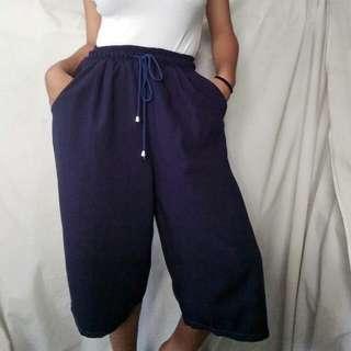 Navy blue Culottes