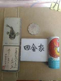 包郵 1980年 -1990年 日本料理餐廳 火柴 三盒