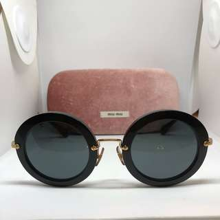 Miu miu sunglasses vintage 49mm round retro