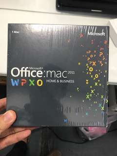 Microsoft office 2011 Home & Business For Mac