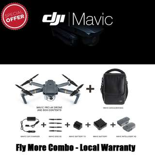 [Limited] DJI Mavic Pro Fly More Combo