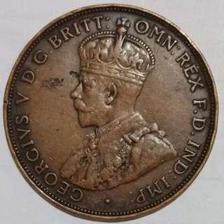 1922 australian one penny