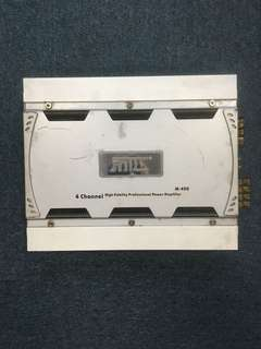 2rd Hand 4-ch Car Amplifier