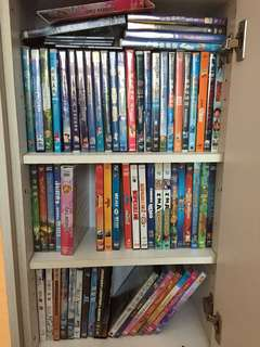 DVD for children (many titles) - $3 each (non neg)