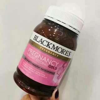 [現貨]澳洲Blackmores孕婦黃金素180粒