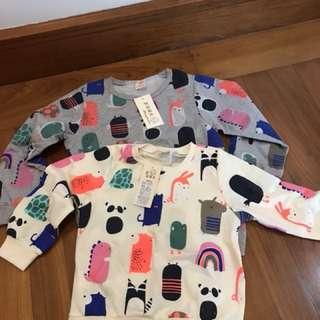 Twinning Cute Pullovers