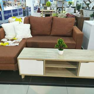 Sofa 3 Seater 1 set + meja