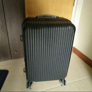 24 inch black luggage