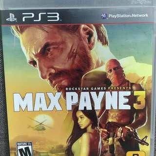 Ps3 MaX Payne3!