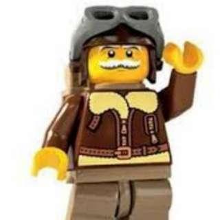 Sealed Lego Minifigure Series 3 Pilot