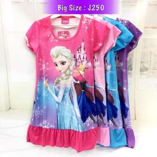 ❤Bargain Sale❤ Frozen Sister Jersey Dress J250
