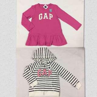 Baby Gap jacket and top