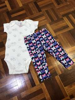 CARTERS SET 6mths