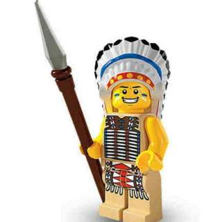 Sealed Lego Minifigure Series 3 Tribal Chief