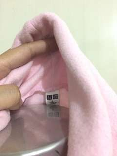 Uniqlo Baby pink Turtle Neck
